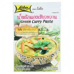 Pasta Curry Green 50g LOBO