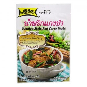Pasta Curry Red Country Style 50g LOBO